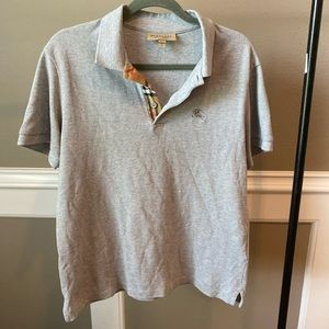 Burberry grey shirt In large